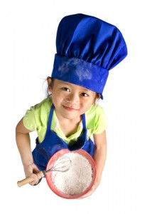 little girl chef full size