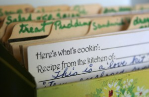 recipe box full size